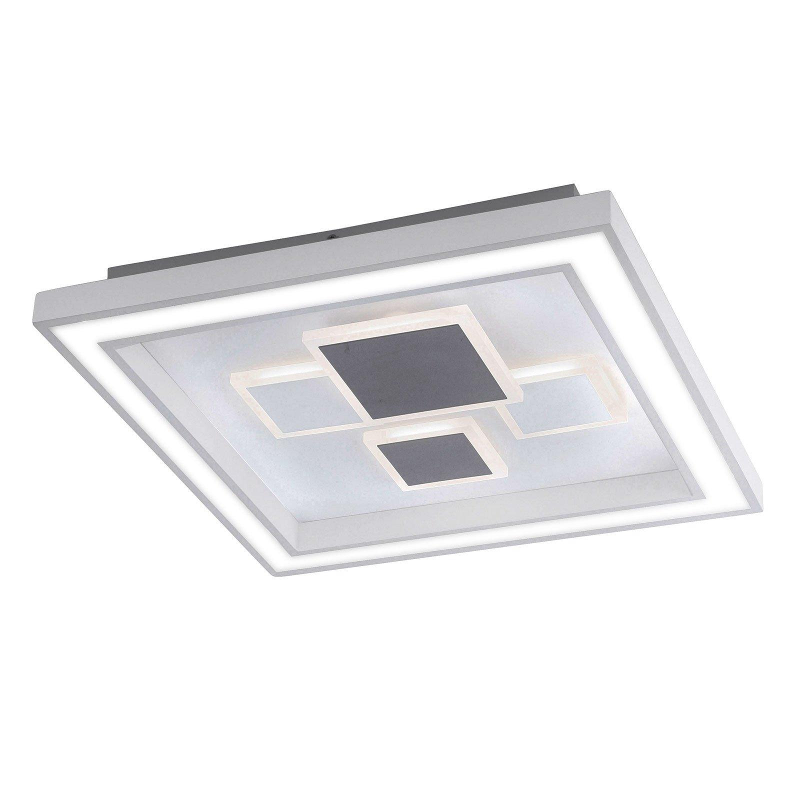 Paul Neuhaus Eliza LED-taklampe kvadratisk
