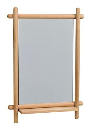 Milford Spegel med hylla Ek 52x74 cm