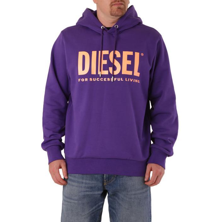Diesel Men's Sweatshirt Purple 294121 - purple L