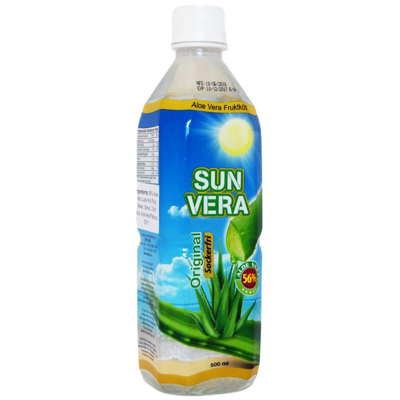 Aloe Vera-dryck Original Sockerfri 500ml - 50% rabatt
