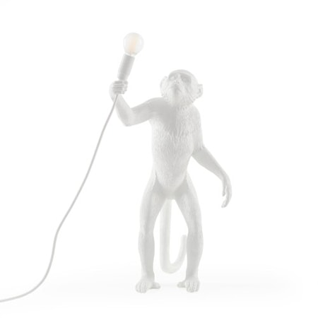 Monkey Lamp Ståendes Vit