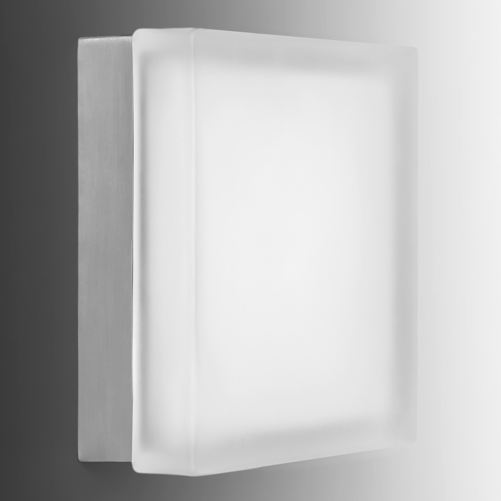 Moderne LED-vegglampe Briq 02L universalhvit