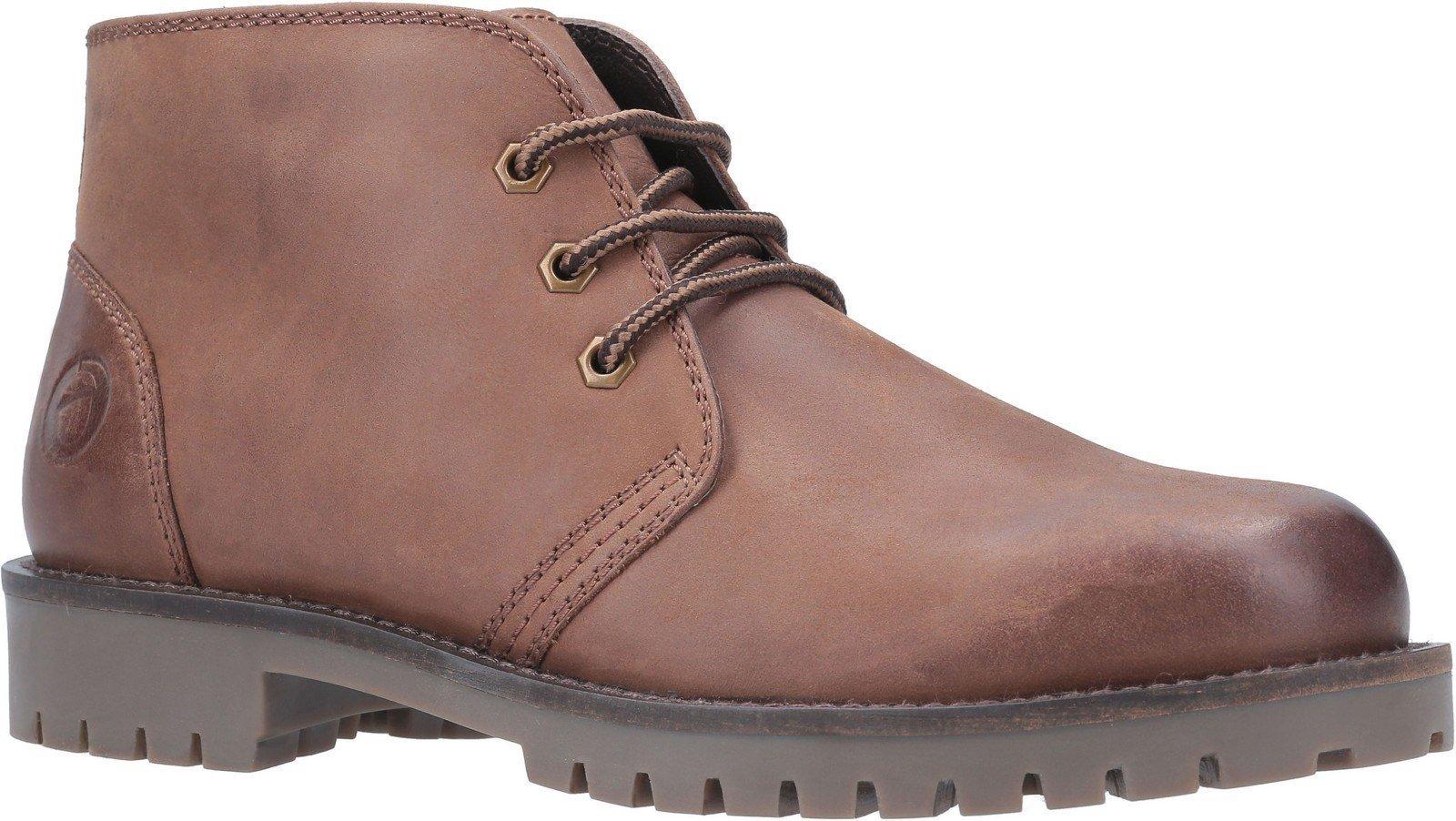 Cotswold Men's Stroud Lace Up Shoe Boot Various Colours 29264 - Tan 6
