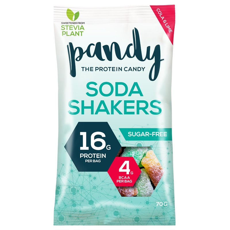 "Godis ""Soda Shakers Sugarfree"" 70g - 40% rabatt"