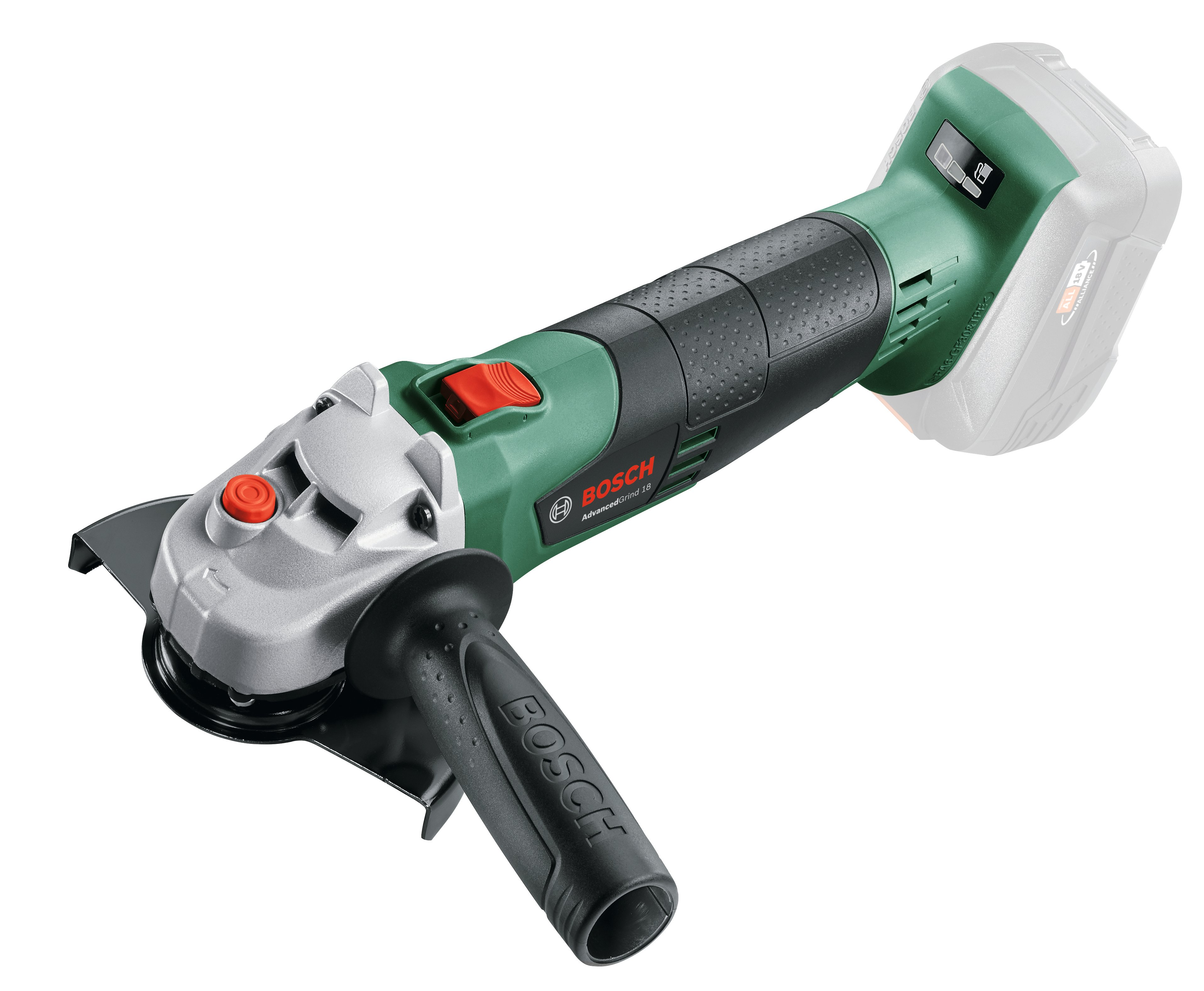 Bosch - Cordless Angel Grinder (No Battery & Charger)