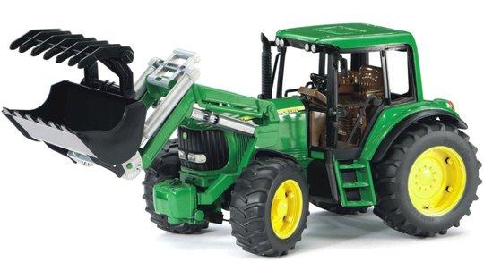 Bruder John Deere 6920 Traktor Med Frontlaster