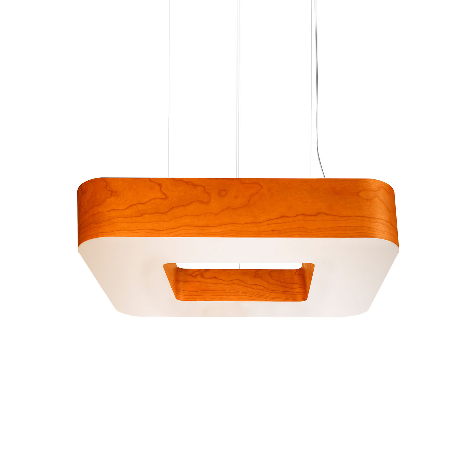 LZF Cuad -LED-riippuvalaisin 0–10 V, oranssi
