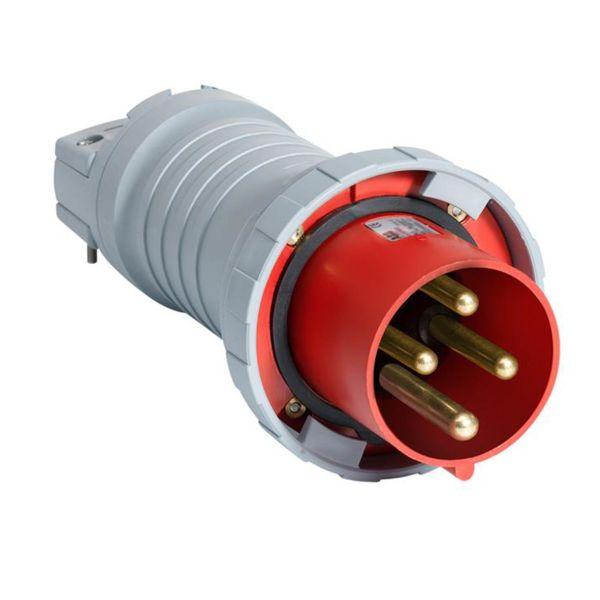 ABB 2CMA166786R1000 Støpsel IP67, 4-polet, 63 A Rød
