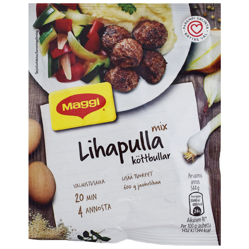 Lihapulla Ateria-ainekset - 23% alennus