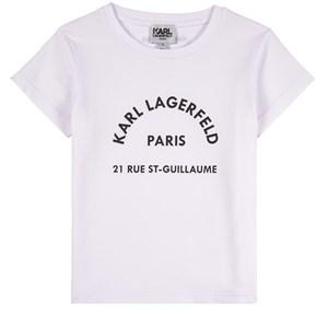Karl Lagerfeld Kids Logo T-shirt Vit 4 år