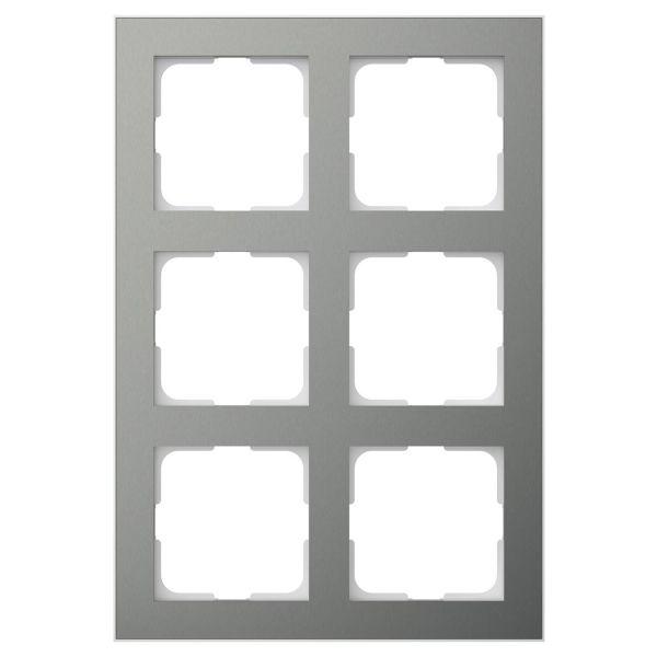 Elko EKO06191 Kombinasjonsramme blåmetall/aluminium 2 x 3 rom