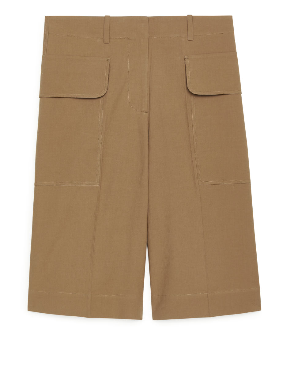 Utility Shorts - Beige