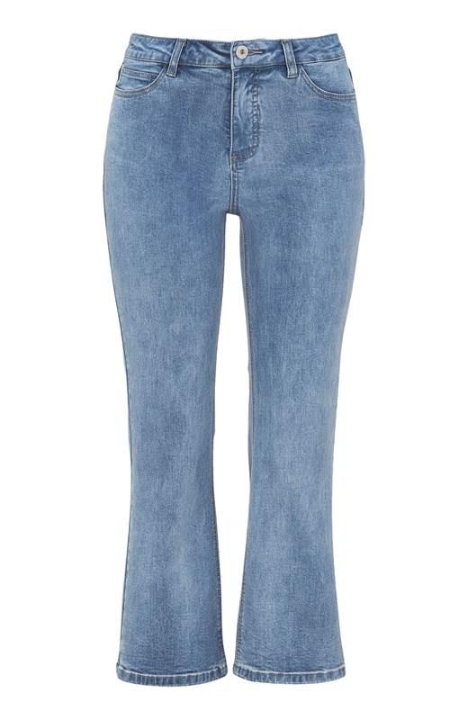 Cellbes Kickflare jeans Ljusblå Denim