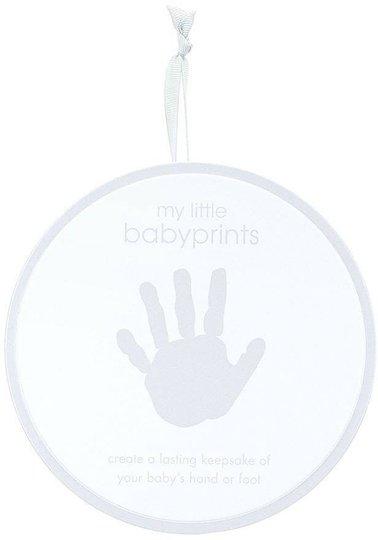 Pearhead My Little Babyprints Tin Fot- og Håndavtrykk, Grå