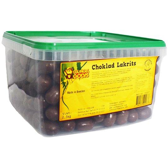 Hel Låda Godis Chokladlakrits 2,5kg - 59% rabatt