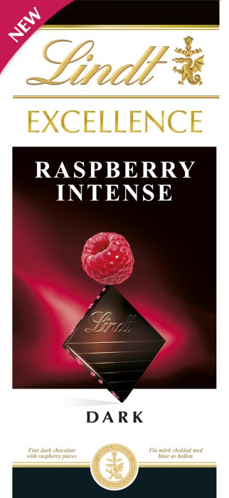 Lindt Excellence Raspberry 100g