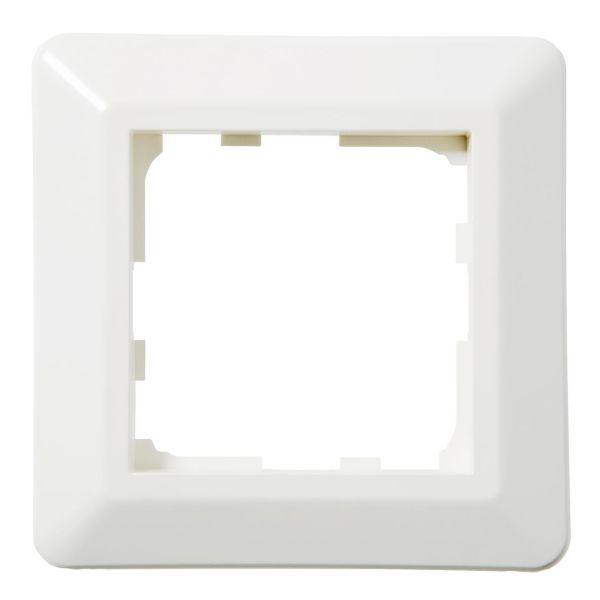 Elko EKO07370 Yhdistelmäkehys valkoinen, termoplastia 84 mm, 1 lokeroa