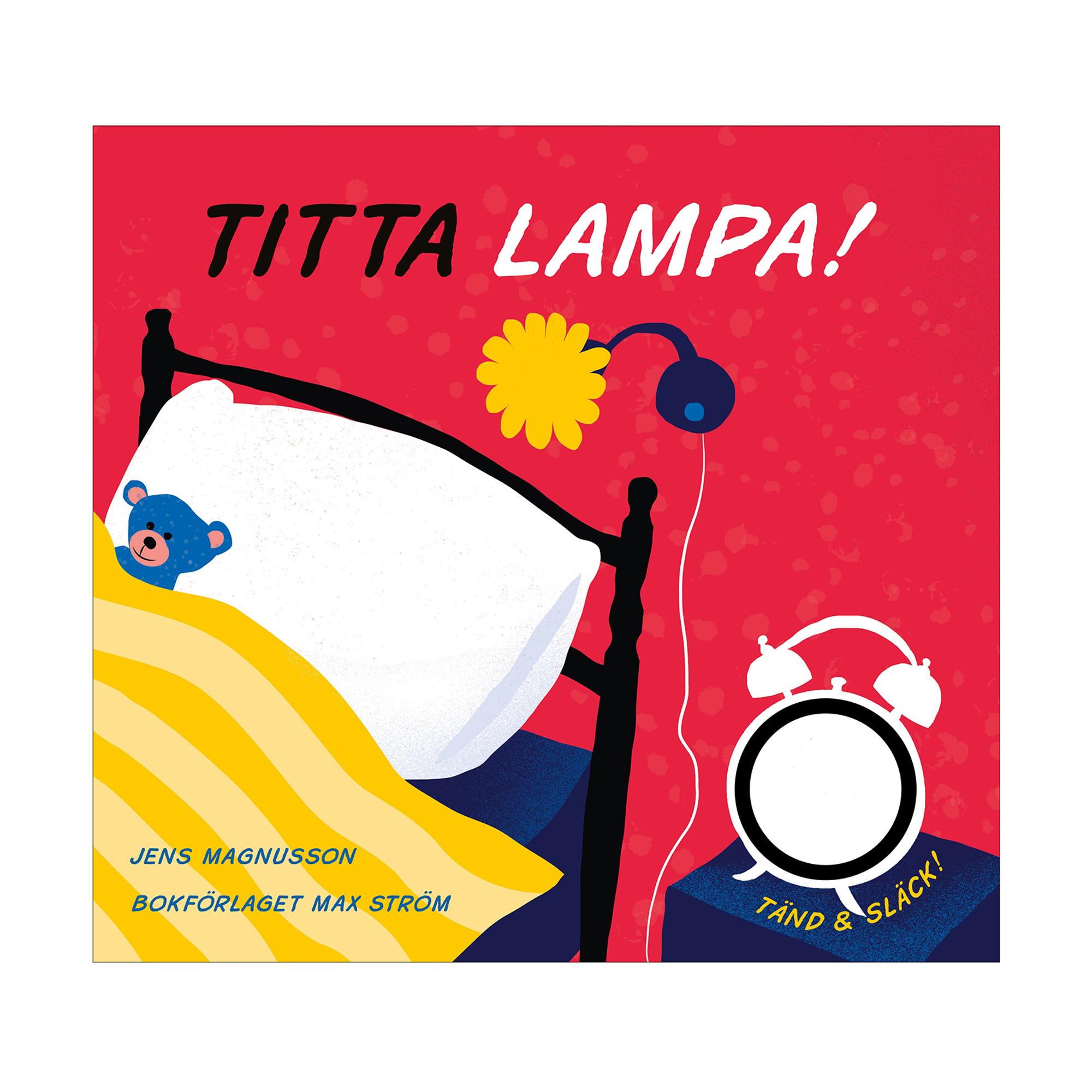 Max Ström Bok Titta lampa!