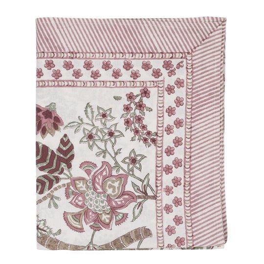 Chamois - Floral Bordsduk 150x230 cm Rosa
