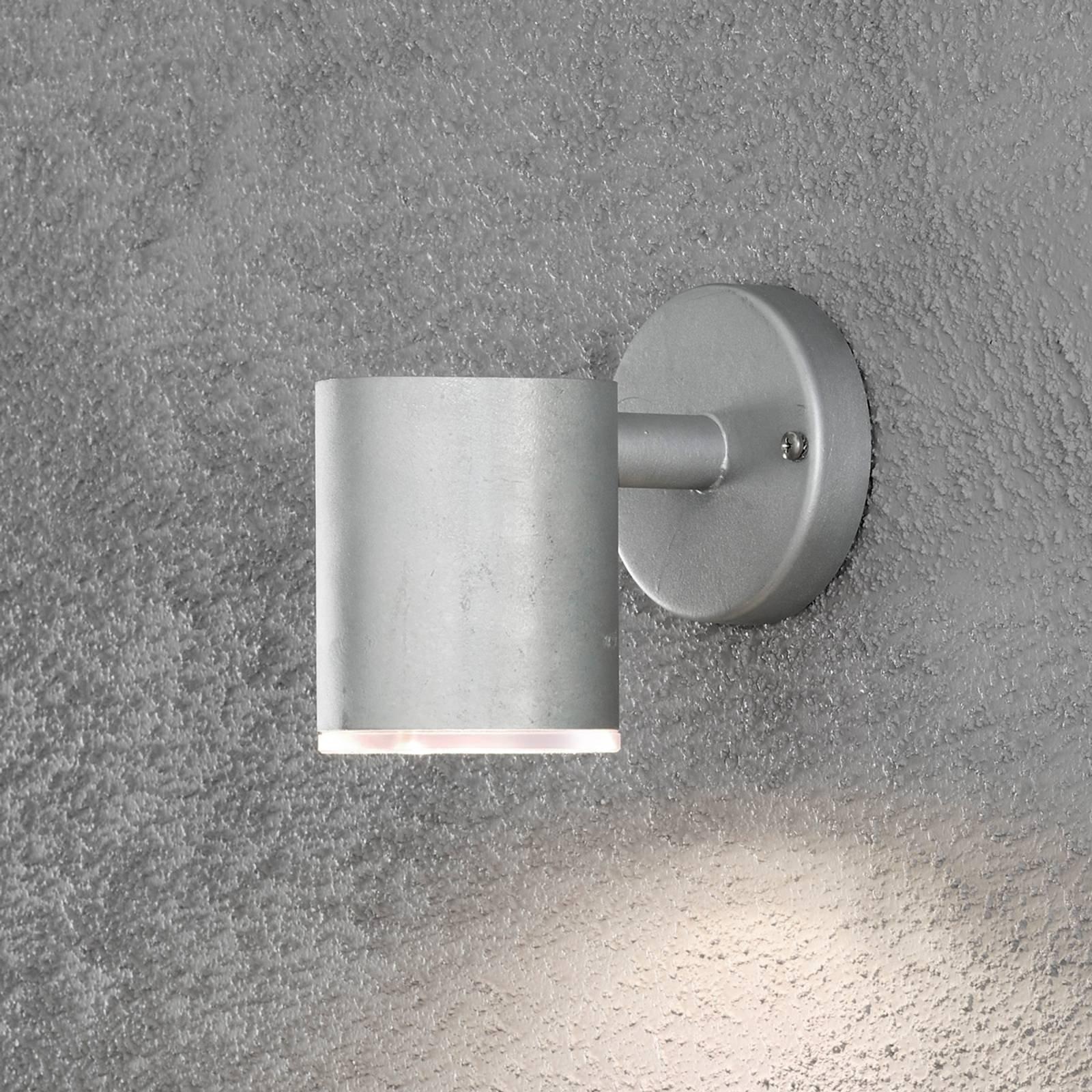 Ull LED-utevegglampe enarmet