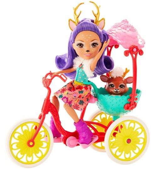 Enchantimals Lekesett Bike Buddies