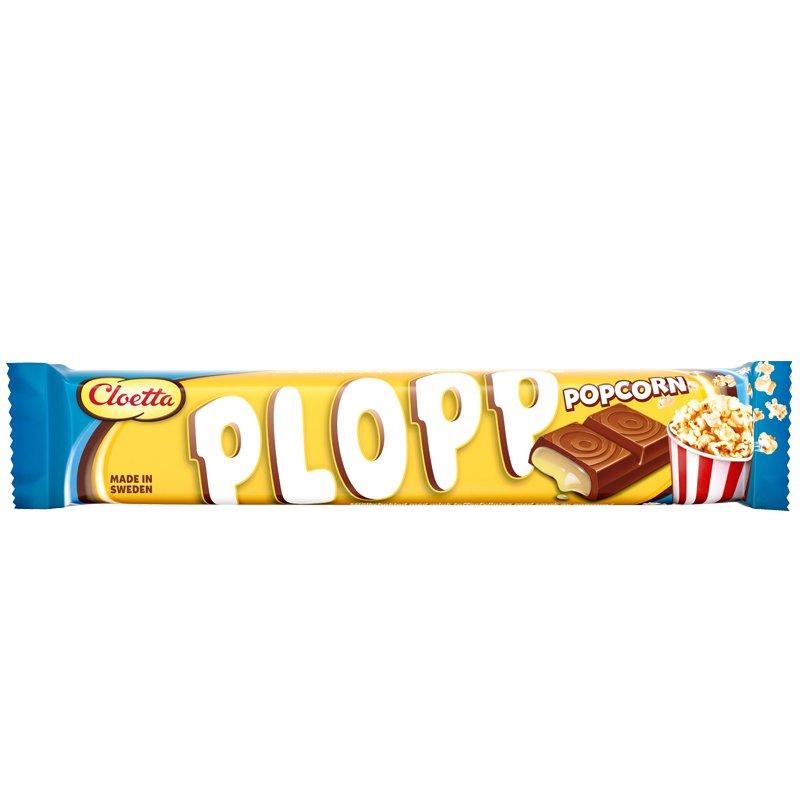 Suklaapatukka Plopp Popcorn - 33% alennus