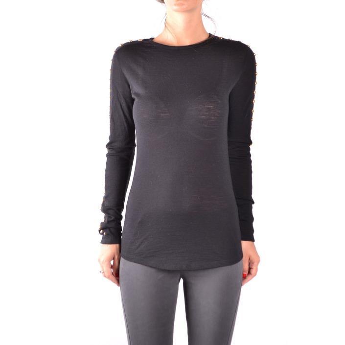 Balmain Women's Sweater Black 186762 - black 36