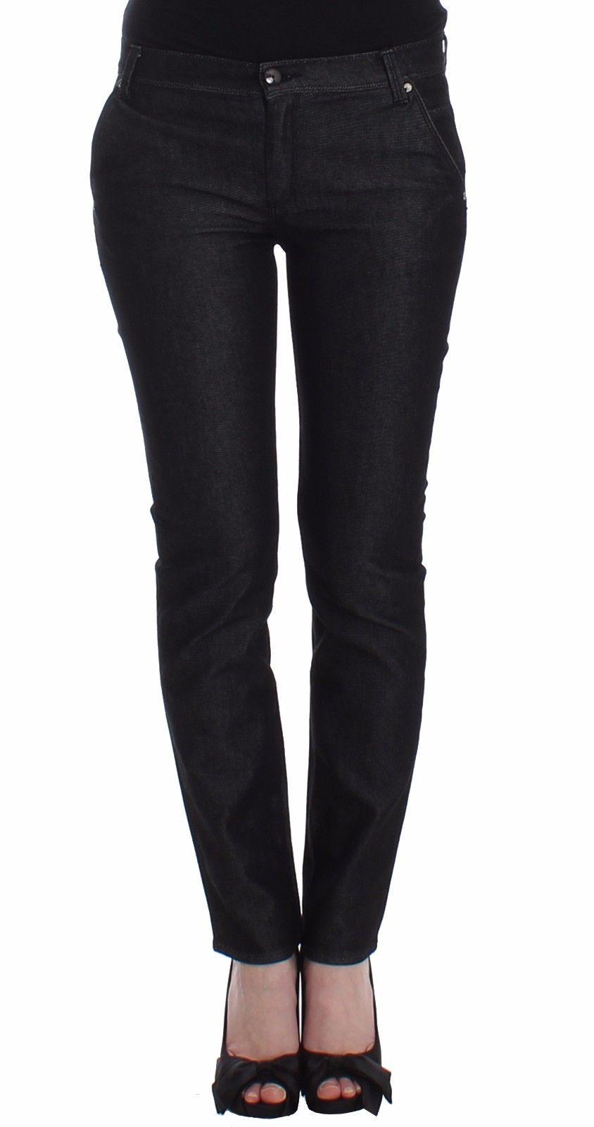 Ermanno Scervino Women's Slim Fit Jeans Black SIG12451 - W26