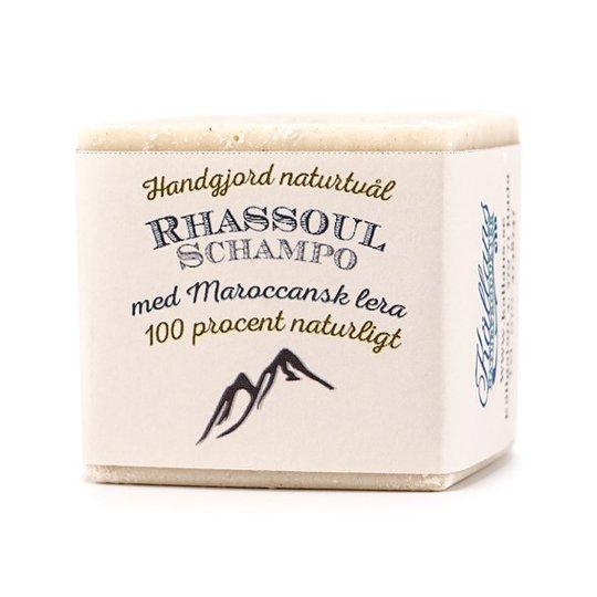Källans Naturprodukter Naturlig Schampotvål Rhassoul, ca. 125 g