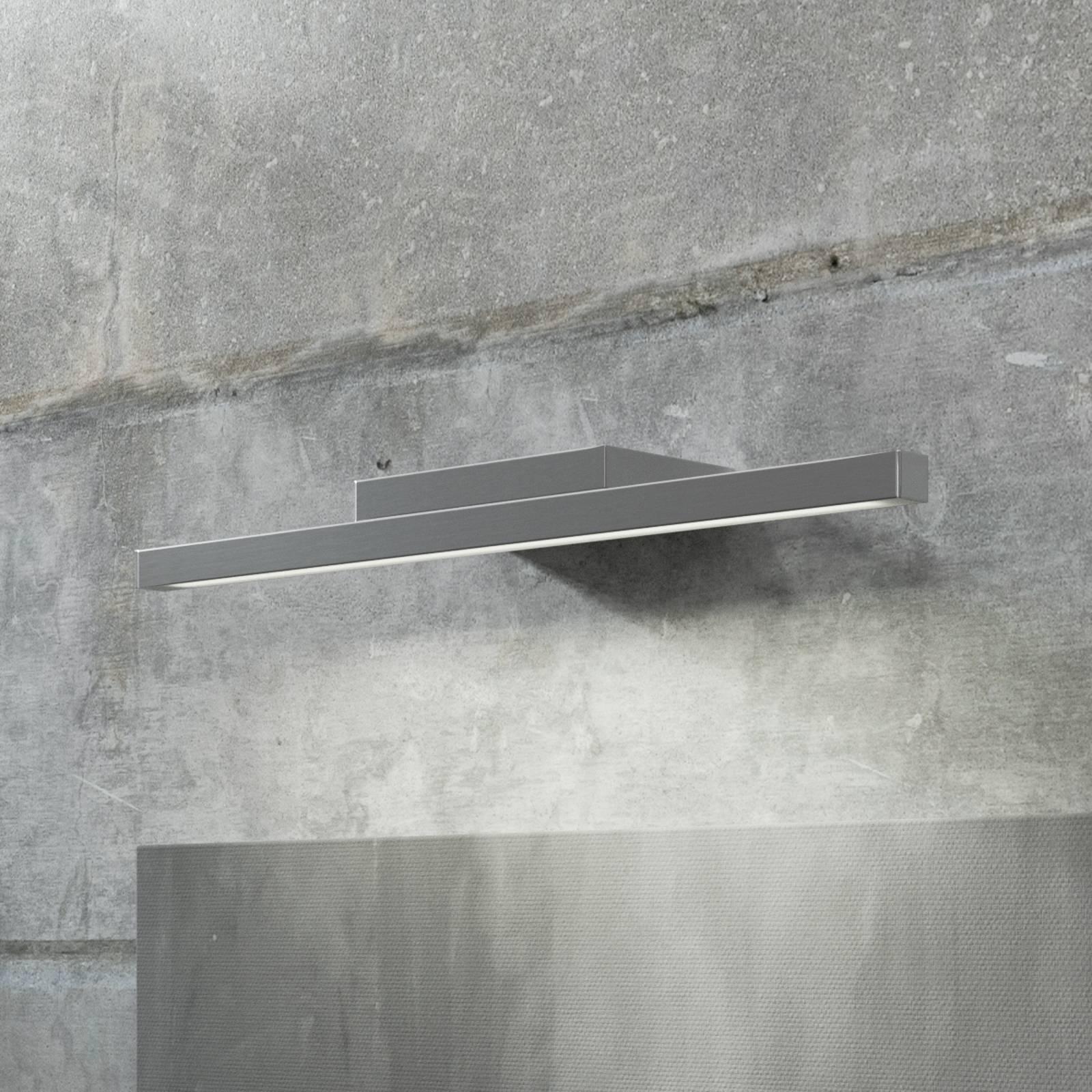 GROSSMANN Forte LED-seinävalaisin, kromi 49,4 cm