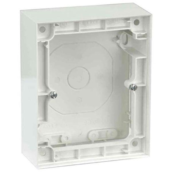 Elko Plus Forhøyningsramme for 2-veis vegguttak, hvit