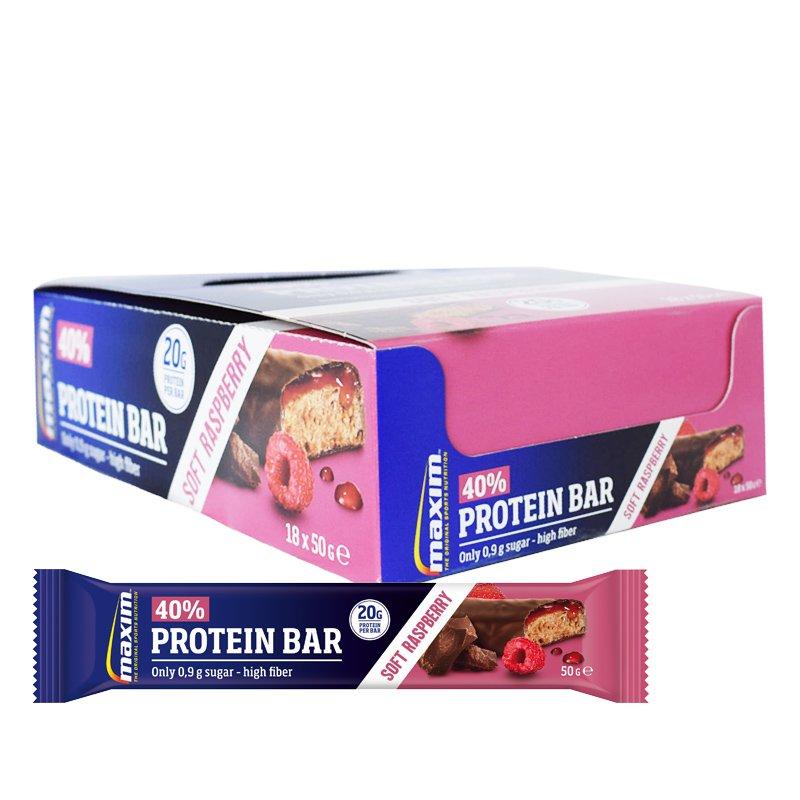 Proteiinipatukoita Rasberry 18kpl - 31% alennus
