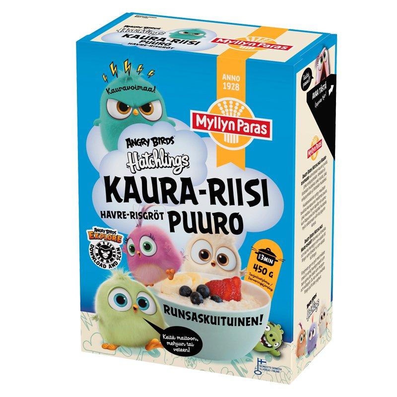 Angry Birds Kaura-riisipuuro - 31% alennus