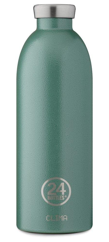 24 Bottles - Clima Bottle 0,85 L - Rustic Moss Green (24B432)