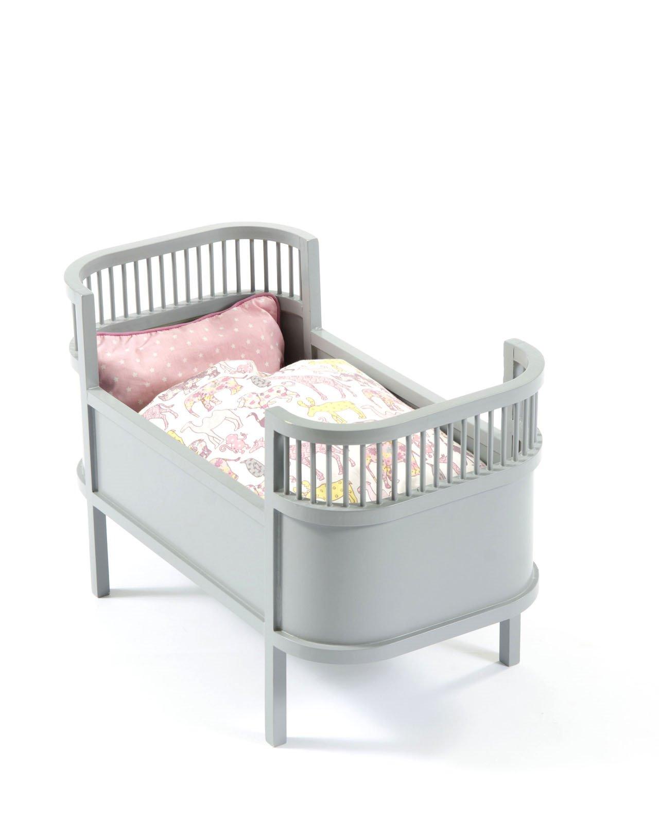 Smallstuff - Rosaline Doll Bed - Grey ( 51000-09)