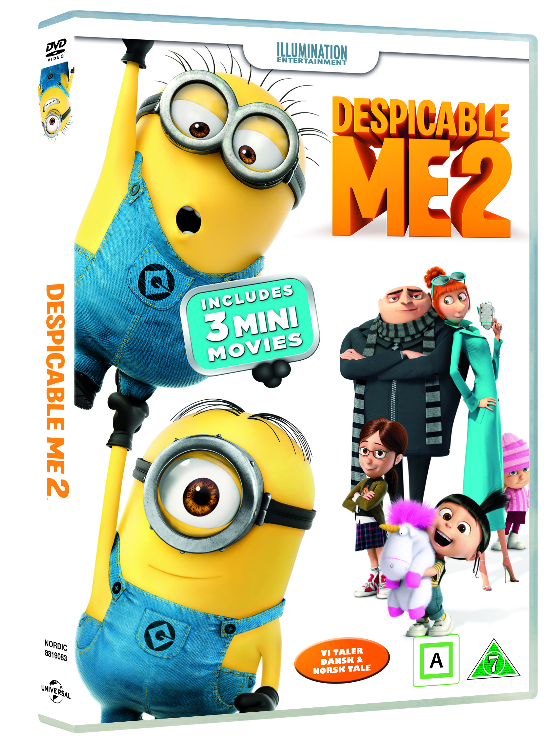 Grusomme mig 2 - DVD