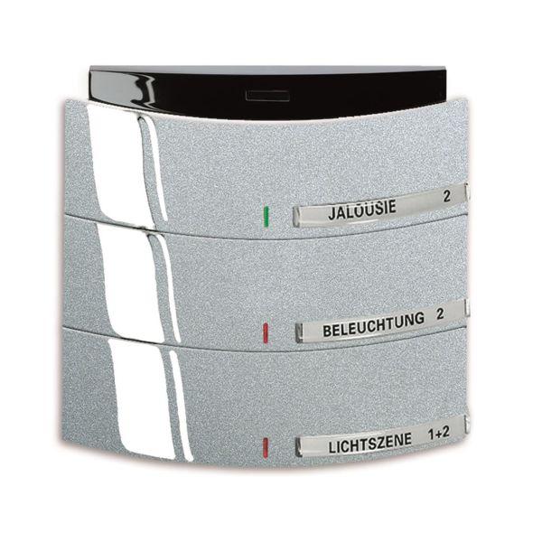 ABB Busch-triton 6320-0-0018 Painike Infrapuna, 3-napainen KNX Maalattu, matta, alumiini