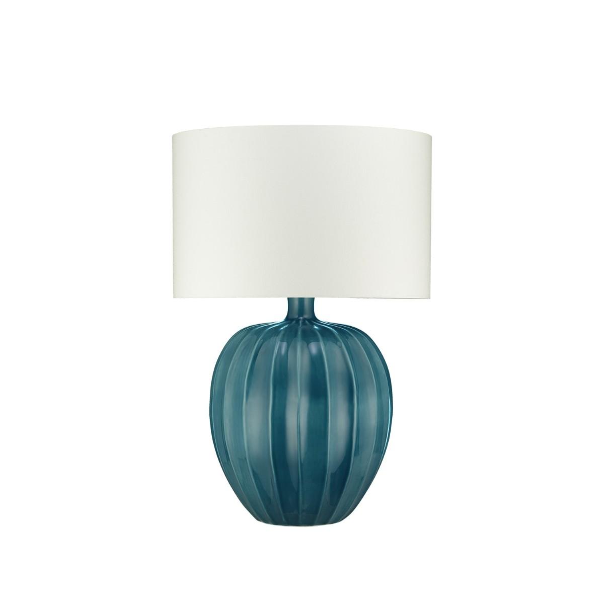 William Yeoward | Kristiana Table Lamp Peacock