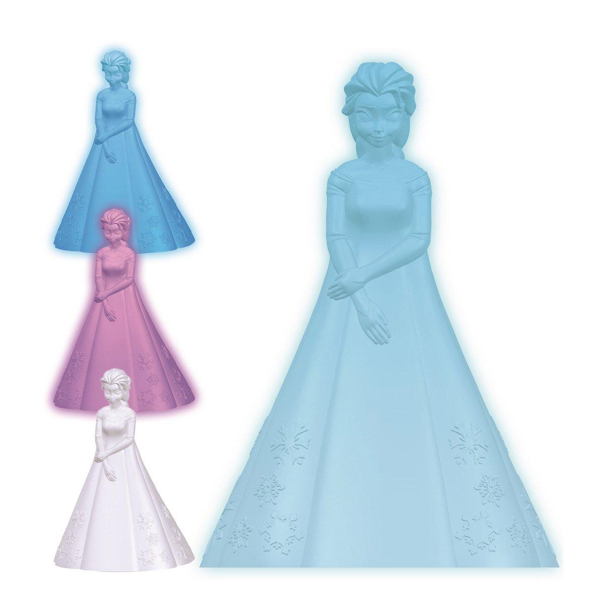 Lexibook - 3D design Frozen Elsa colour change night light approx. 20cm (NLJ110FZ)