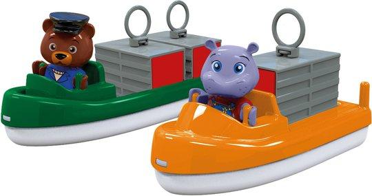 Aquaplay Figurer Fraktskip Og Transportskip Lekesett