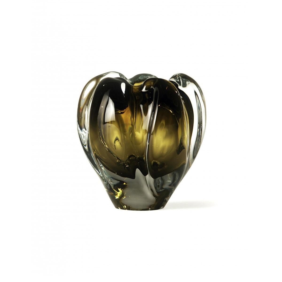 Porta Romana I Small Peony Vase | Olive