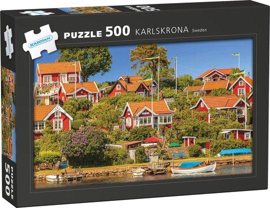 Kärnan Puslespill Karlskrona 500 Biter