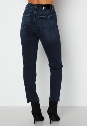 ONLY Emily Life HW ST Crop Ankle Jeans Blue Black Denim 27/30