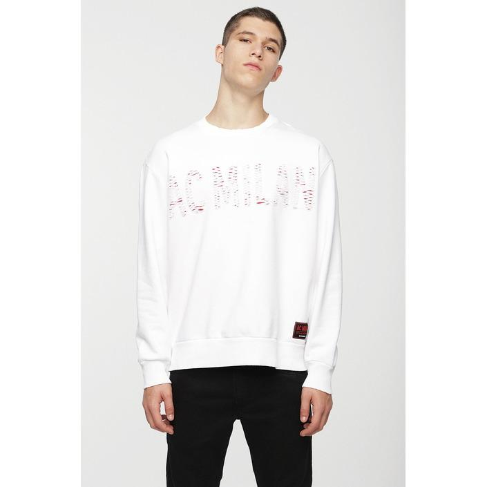 Diesel Men's Sweatshirt Various Colours 270115 - white S
