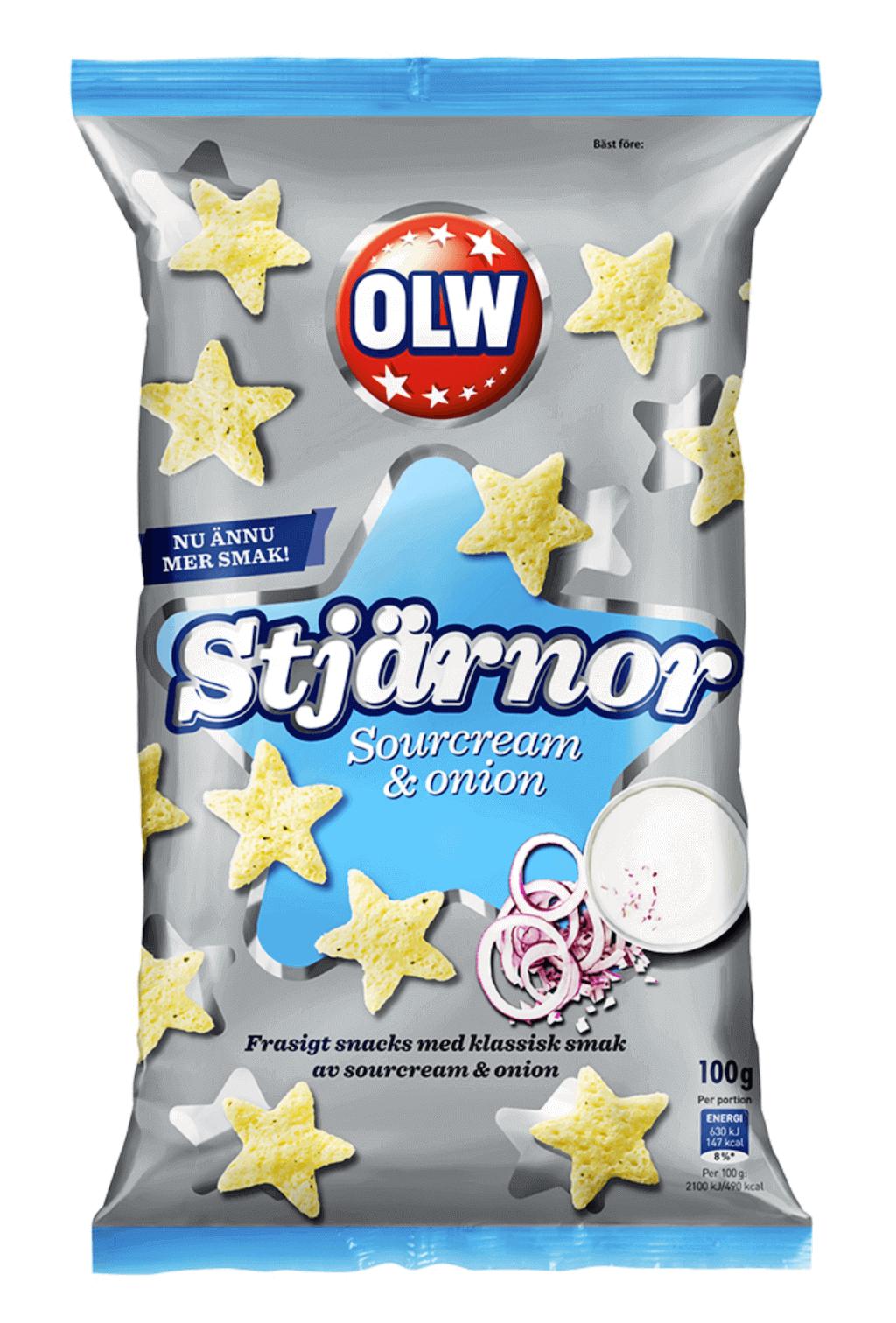 OLW Stjärnor 100g