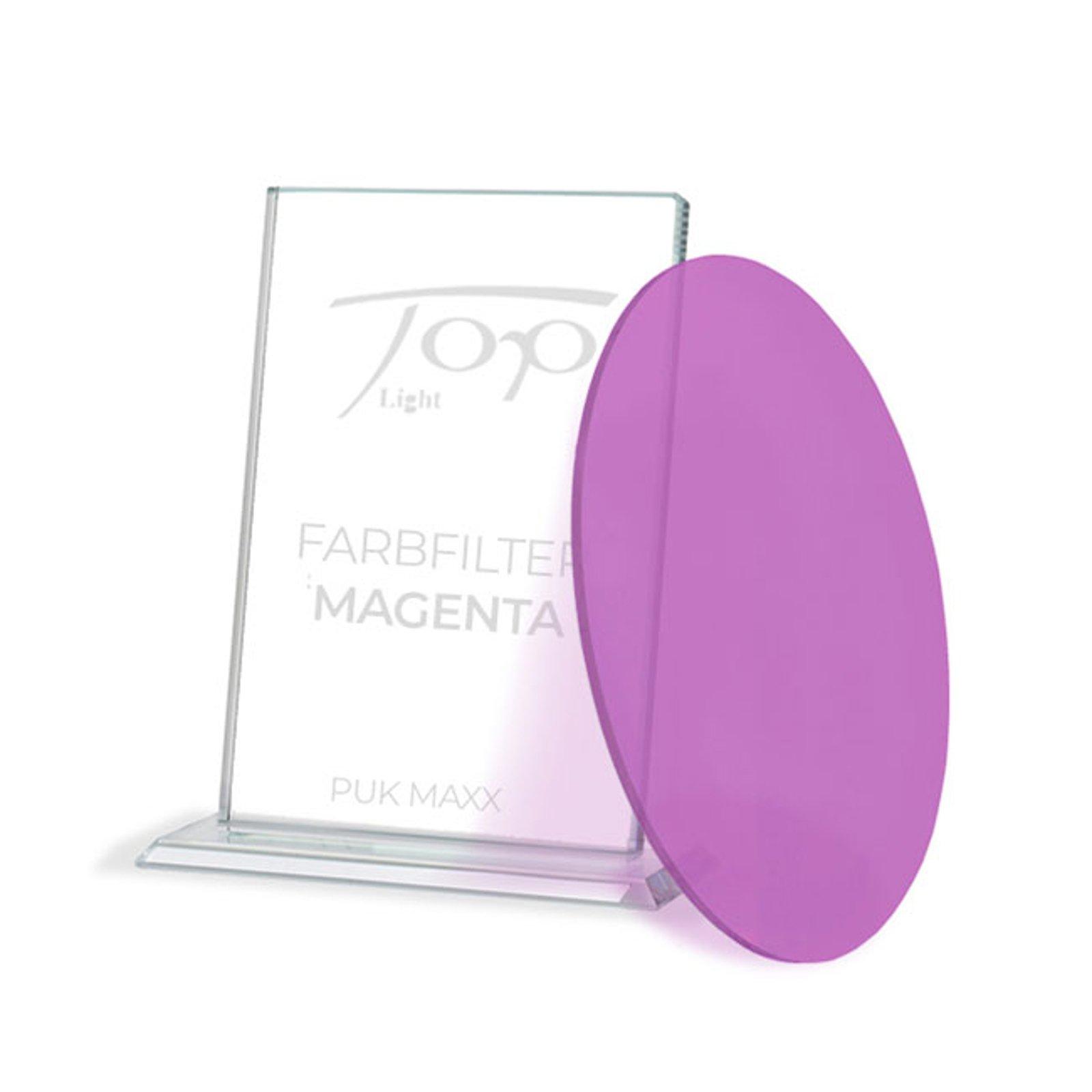 Fargefilter for lampeserien Puk Maxx, magenta