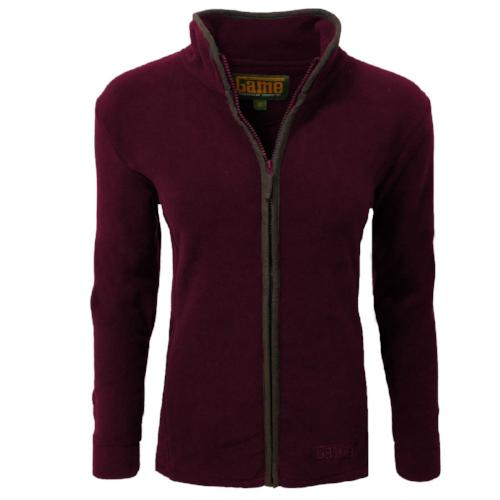 Game Technical Apparel Women's Jacket Various Colours Penrith - MAROON XS