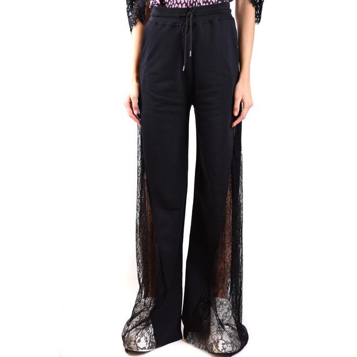 Alexander Mcqueen Women's Trouser Black 188929 - black S