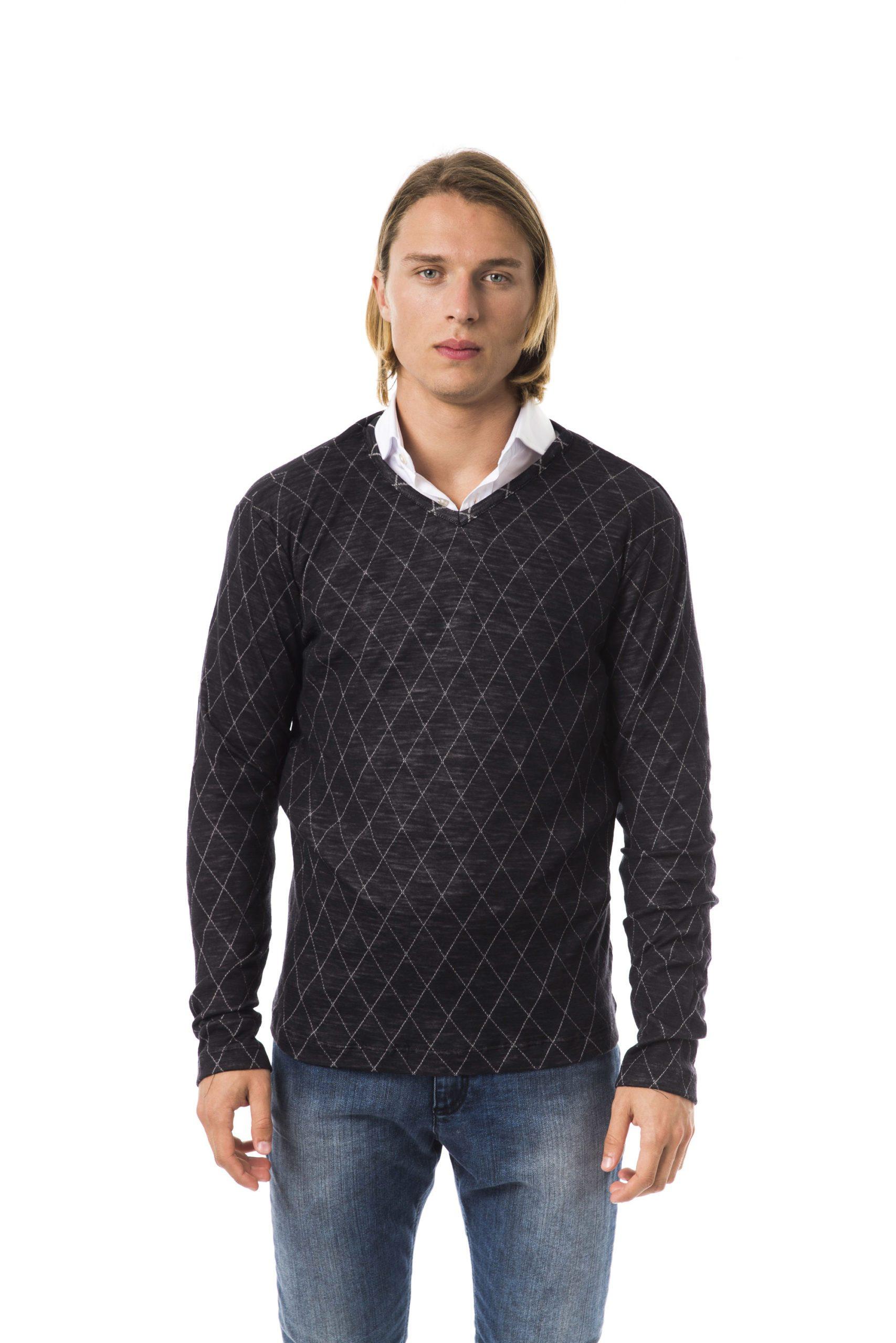 Byblos Men's Sweater Black BY817227 - S