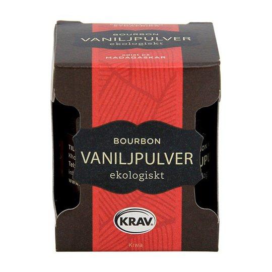 Khoisan Tea Ekologiskt Vaniljpulver Bourbon, 10 g